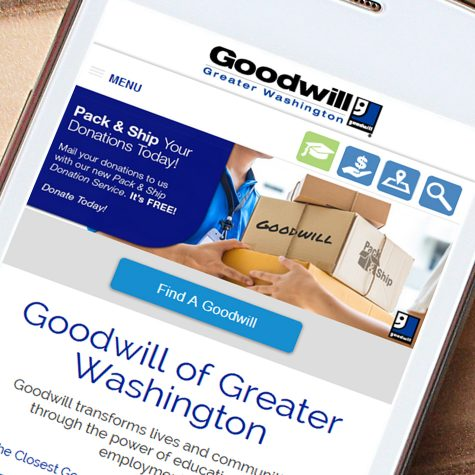 Goodwill of Greater Washington Website