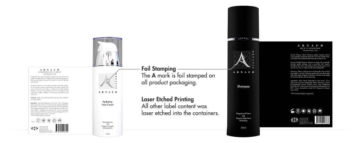 Arnaud Organic Product Label Detail