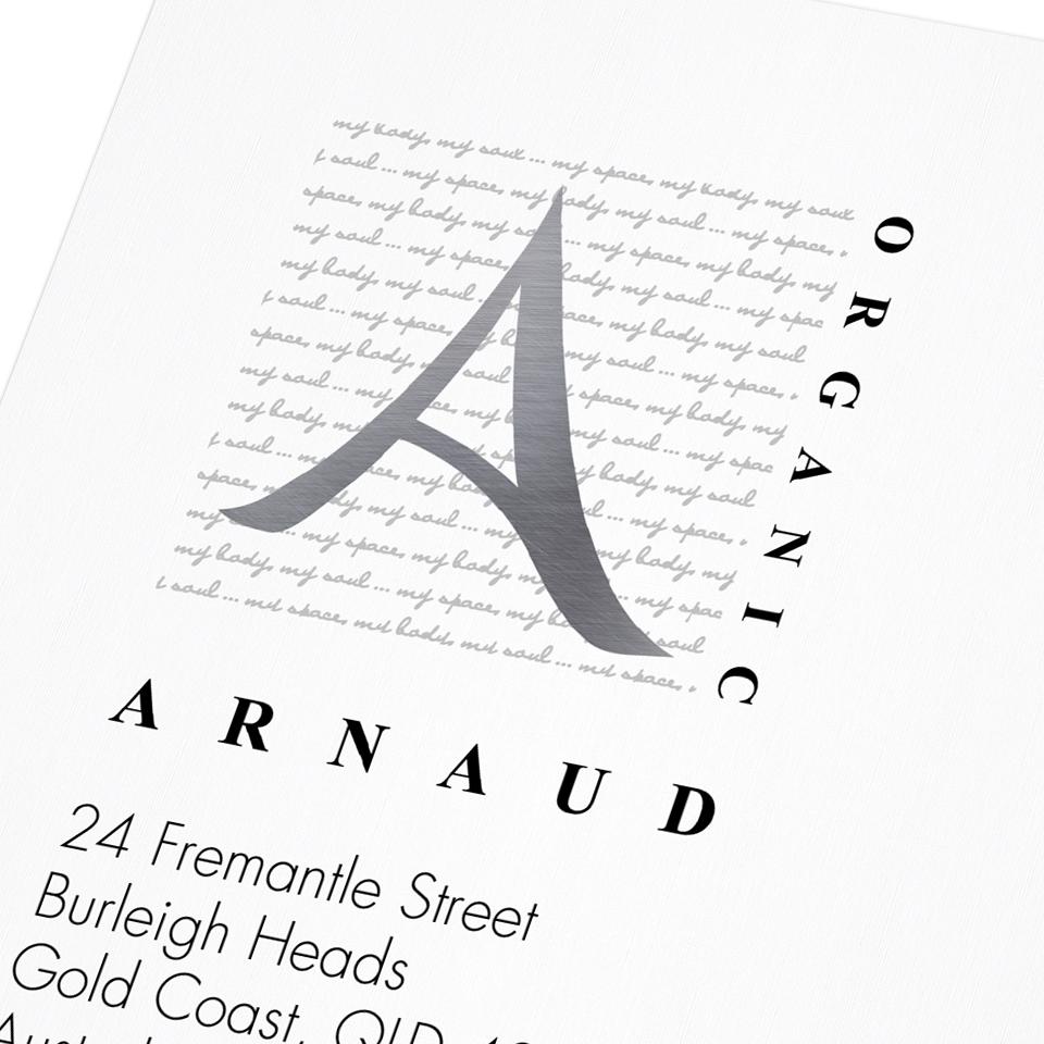 Arnaud Organic Letterhead Detail