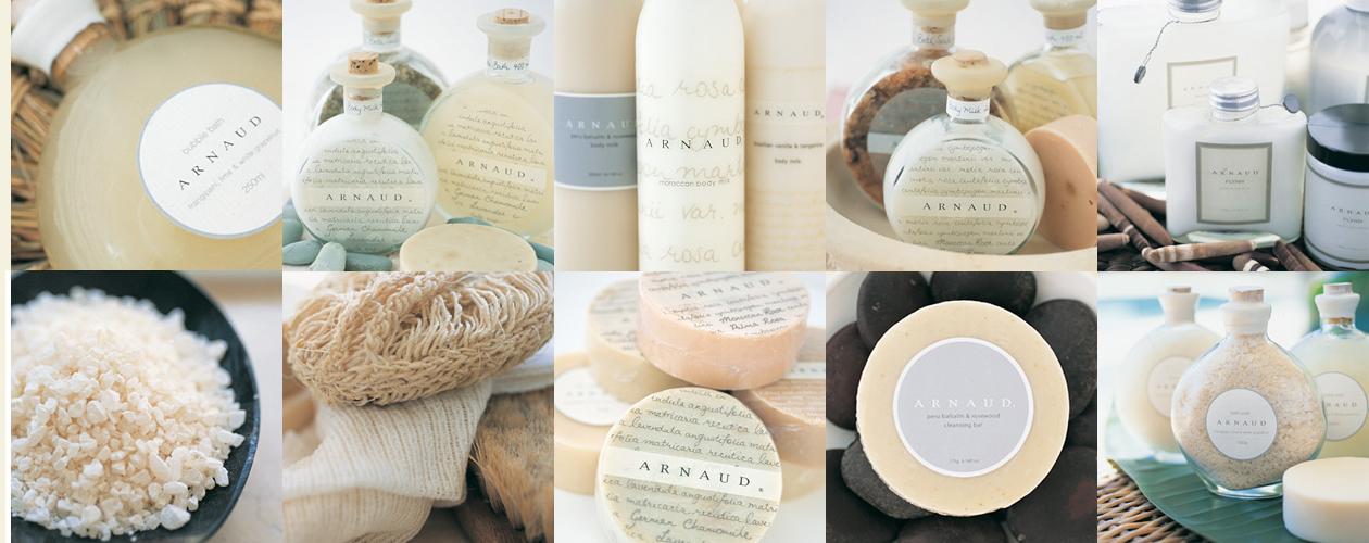 Arnaud, Original Branding & Packaging