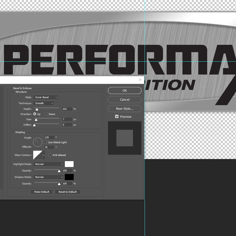 Performaxx Nutrition Logo Styling