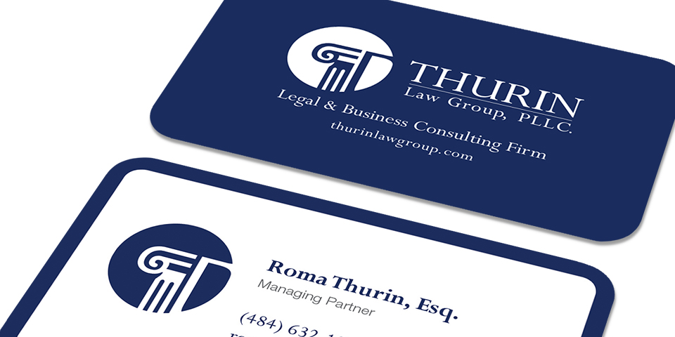 Thurin Law Group, PLLC. - Business Card Details
