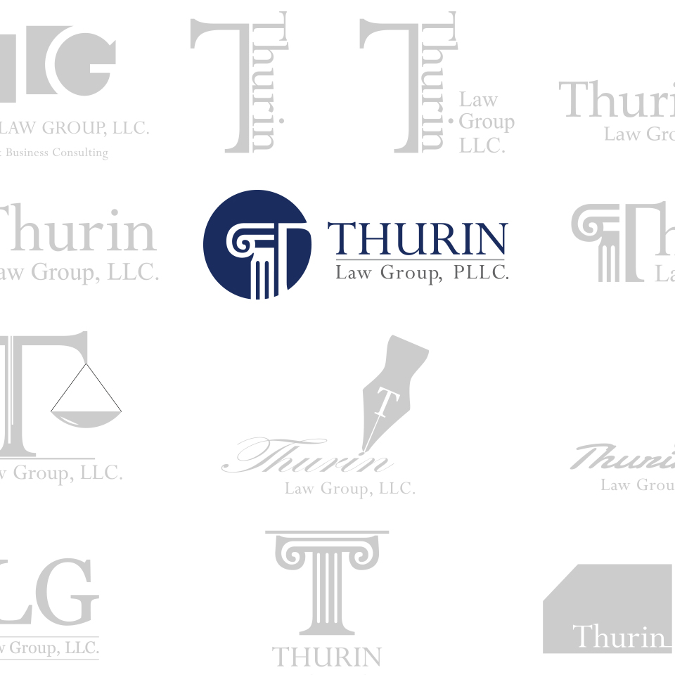 Thurin Law Group, PLLC. Logo Exploration
