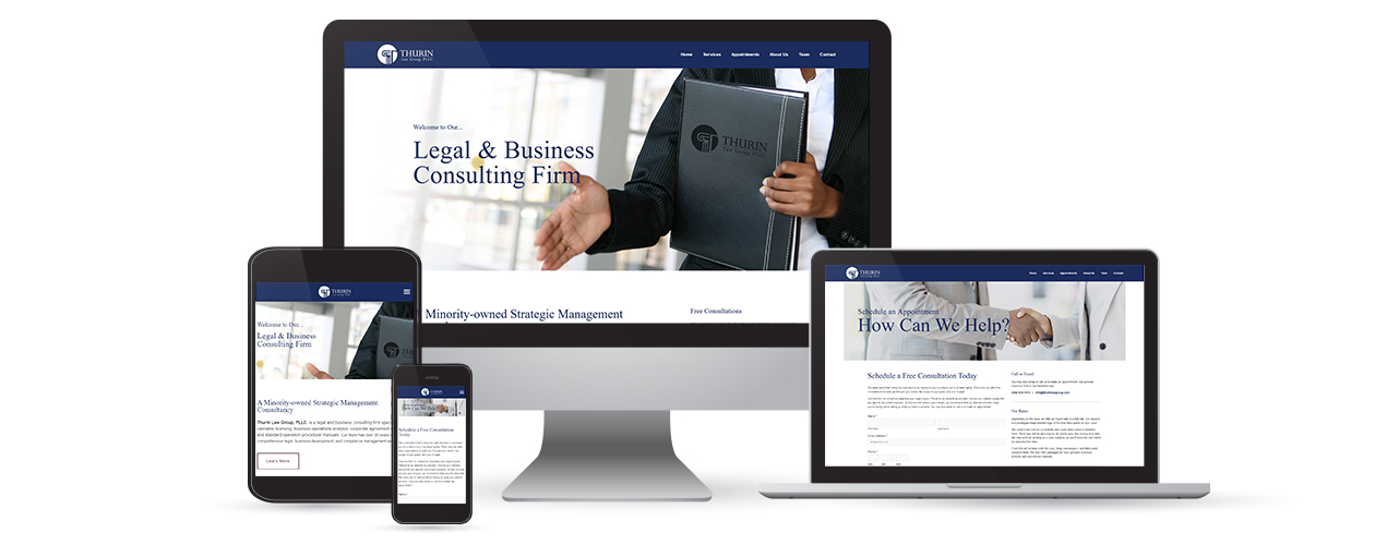 Thurin Law Group, PLLC. - Website Design